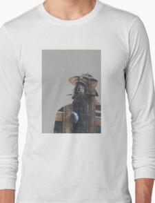 Fire Escape Cigarette Long Sleeve T-Shirt