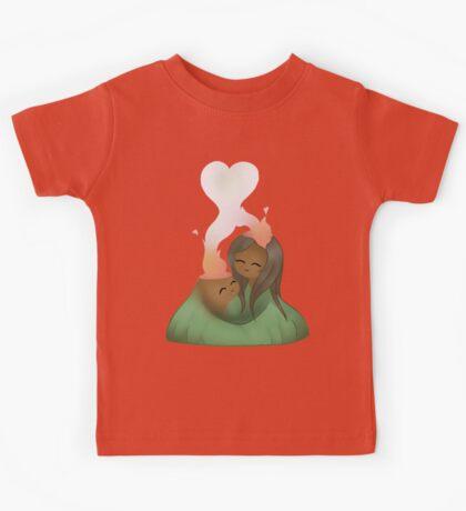I Lava you - Volcanoes  Kids Tee