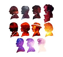 Galaxy Doctor Who Photographic Print