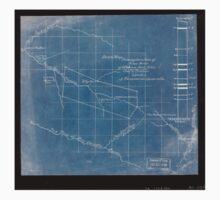 244 Sketch map showing location of 5 007 acres of Elkhorn Fork W Va coal timber lands Inverted One Piece - Short Sleeve