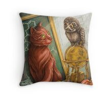 The Scientists Throw Pillow