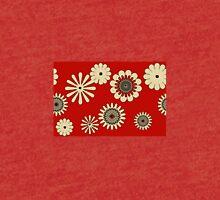 Les Fleurs sur Rouge Tri-blend T-Shirt