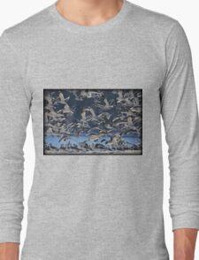 Freezing Frenzy Long Sleeve T-Shirt