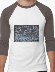 Freezing Frenzy Men's Baseball ¾ T-Shirt