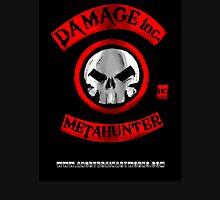 Damage Inc Logo Zipped Hoodie