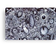 Wazowski with Every Eye Canvas Print