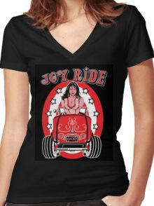 Joy Ride Women's Fitted V-Neck T-Shirt
