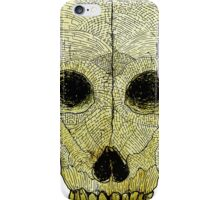 Minotaur in color iPhone Case/Skin