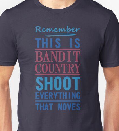 Bandit Country Unisex T-Shirt