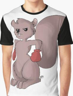 Boxing Squirrel  Graphic T-Shirt