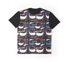 Seamless pattern of bright fish  Graphic T-Shirt
