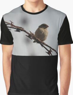 Lonely Bird Graphic T-Shirt