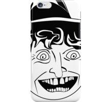 Tom Baker Black & White Portrait iPhone Case/Skin