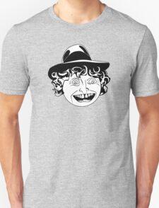 Tom Baker Black & White Portrait Unisex T-Shirt