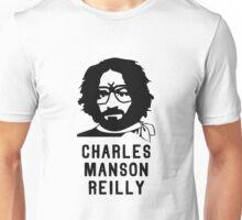 Charles Manson Reilly W/ Text Unisex T-Shirt