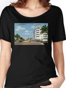 Fifties style Miami Lincoln road Exclusive shopping Women's Relaxed Fit T-Shirt