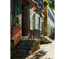 New Castle Delaware Street Photographic Print