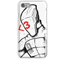 Zer0 iPhone Case/Skin
