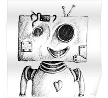 Robot Named Techno Poster