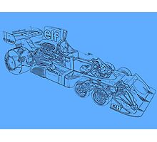 Tyrell P34 drawing mode Photographic Print