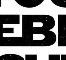 Star Wars Quote - You Rebel Scum Sticker