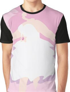 Floating Rose Graphic T-Shirt
