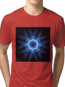 Snowflake mandala Tri-blend T-Shirt