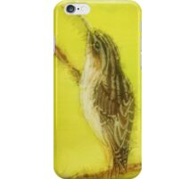 Brown Creeper iPhone Case/Skin
