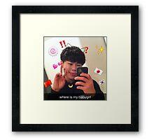 SHENMEi Framed Print