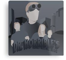 Doctor Horrible's Sing-Along Blog Metal Print