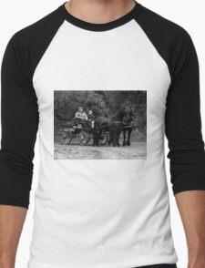 Horse Power Men's Baseball ¾ T-Shirt
