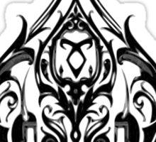 The Shadowhunters-poker Sticker