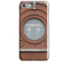 A Big Round Window iPhone Case/Skin