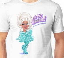 RuPaul presenting season 8 of Drag Race Unisex T-Shirt