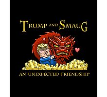 Trump and Smaug: An Unexpected Friendship Photographic Print