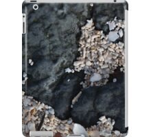 black rock, coral beach iPad Case/Skin