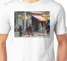Manhattan NY - Bike Lane Unisex T-Shirt