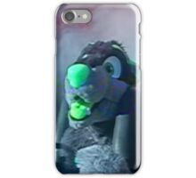 furry on a slingshot roller coaster in las vegas, 2005 iPhone Case/Skin