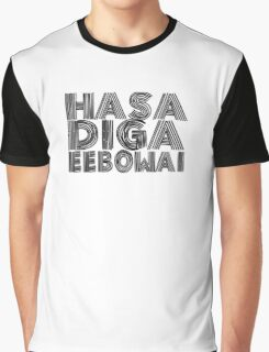 HASA DIGA EEBOWAI - The Book Of Mormon Graphic T-Shirt