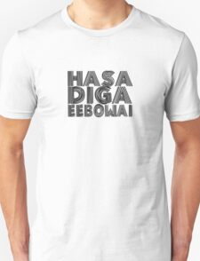 HASA DIGA EEBOWAI - The Book Of Mormon T-Shirt