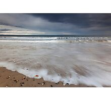 findhorn beach Photographic Print