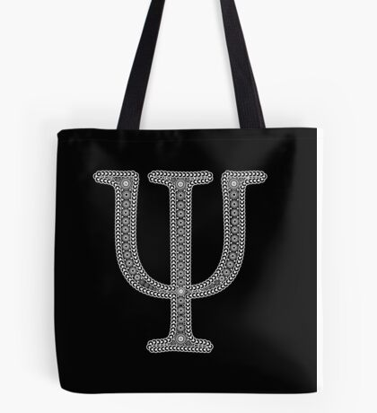 Psi Psychedelic Style Tote Bag