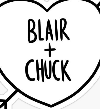BLAIR + CHUCK Sticker