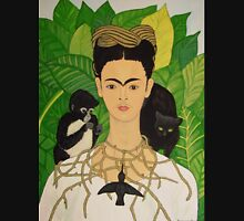 Frida with Monkey and Cat Tee T-Shirt