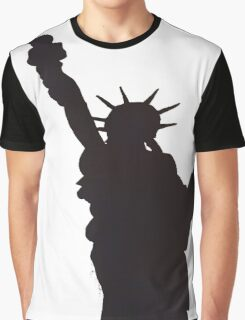 Statue of liberty silhouette  Graphic T-Shirt