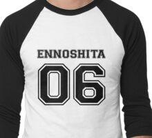 Haikyuu! Chikara Ennoshita Varsity Men's Baseball ¾ T-Shirt