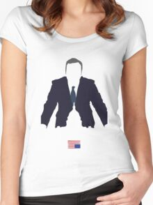 Pres. Underwood Women's Fitted Scoop T-Shirt