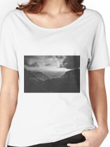 Total freedom - black and white landscape photography Women's Relaxed Fit T-Shirt