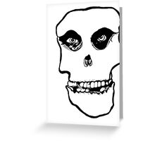 crimson ghost Greeting Card