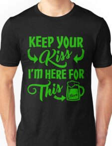 Funny St Patrick's Day Beer Drinking Humor Unisex T-Shirt